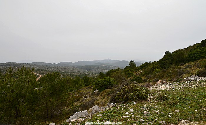 Vrachionas, the highest point on Zakynthos