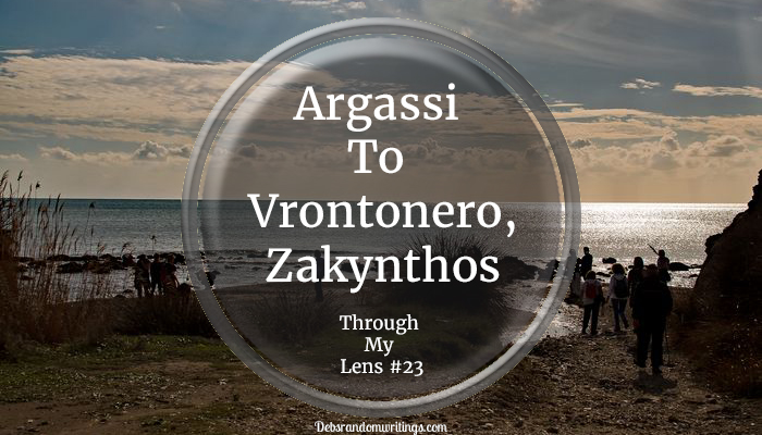 Our Walk From Argassi To Vrontonero, Zakynthos