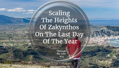 Scaling The Heights Of Zakynthos On The Last Day Of The Year