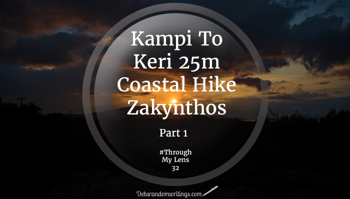 In the winter we did a Kampi to Keri 25km coastal hike on Zakynthos. We saw all the seasons in a few hours and still managed to stay dry!