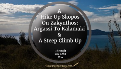 If you enjoy a good walk and holidaying on Zakynthos I can recommend a hike up Skopos. The views are breathtaking!