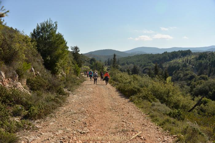 Stunning landscape on Zakynthos