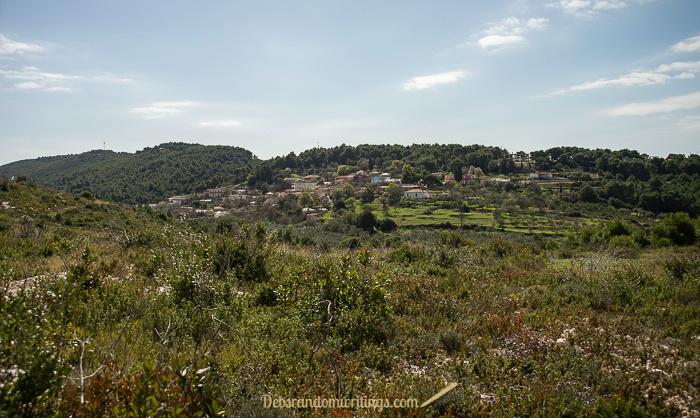 Our hike near Agalas took us near the village of Zakynthos.