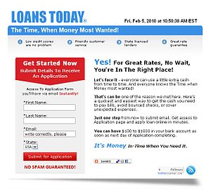 English: Online Loans Today, All Loans in One ...