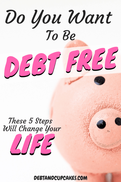debt free after 5 life changes