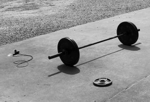 weightlifting to reduce stress and sadness