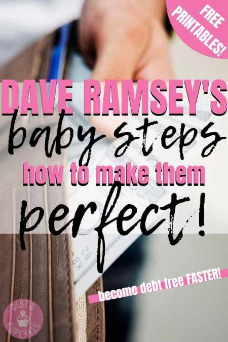 Dave Ramey's Baby Steps how to make them perfect