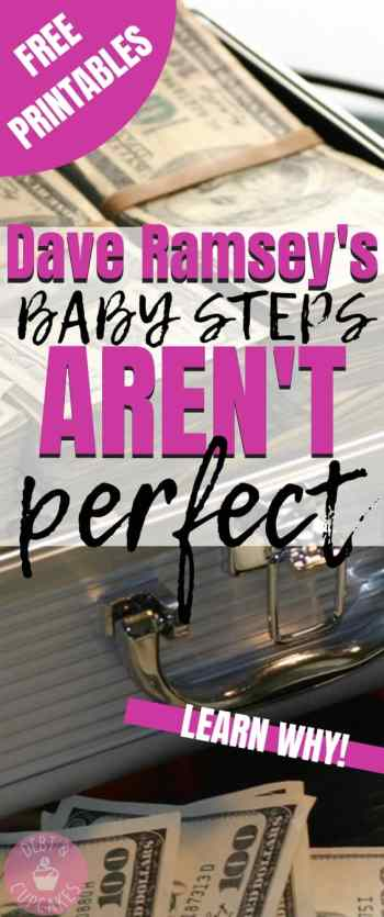 Dave Ramsey's Baby Steps aren't perfect