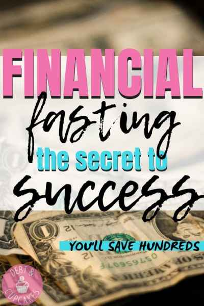 Financial Fasting The Secret to Success