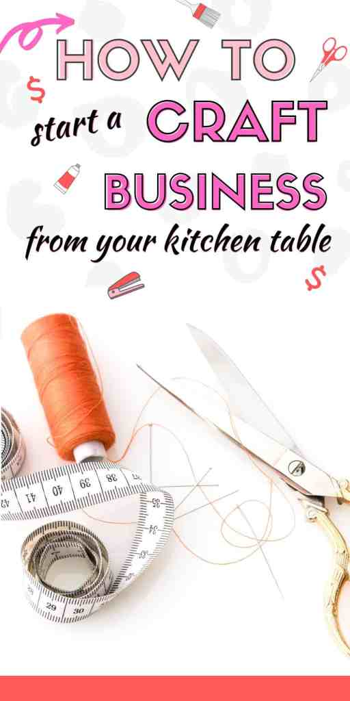 How to start a craft business from your kitchen table. There's never been a better time to make money selling your crafts online. You'll be able to work from home, make extra money and even save some money with our small craft business ideas. #makemoney #craftbusiness #sellingonline #sellingonline #savemoney #extracash #workfromhome #momjobs #stayathomemomjobs