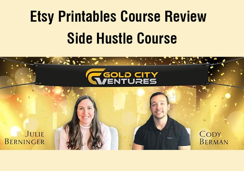 graphic regarding Etsy Printables titled My Examine Of The Etsy Printables Study course Via Gold Metropolis Ventures