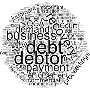Commercial Debt Recovery Solicitors in Queensland