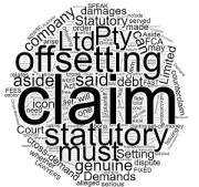 What is an Offsetting Claim - Setting Aside a Statutory Demand