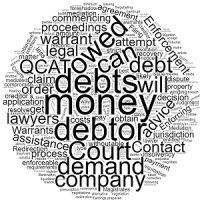 Recovering Debts or Money Owed