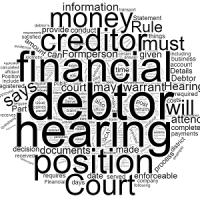 Enforcement Hearing & Statement of Financial Position
