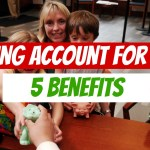 savings account benefits for kids