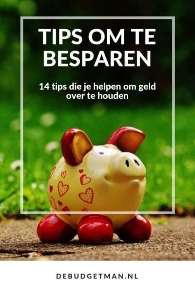 Tips om te besparen; debudgetman.nl