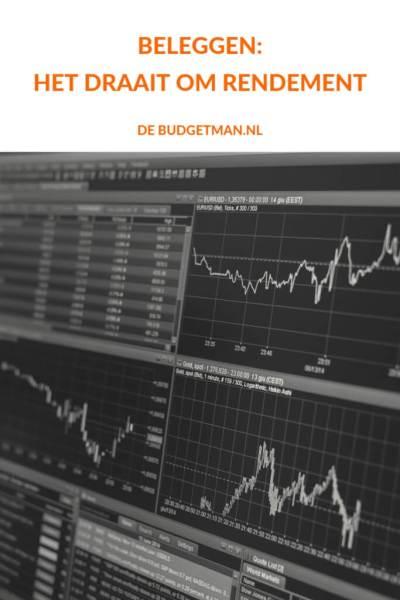 beleggen: het draait om rendement. debudgetman.nl