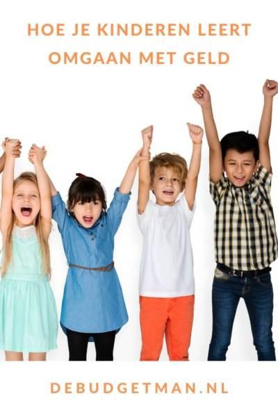 Hoe je kinderen leert omgaan met geld #kinderen #kids #budget #geld #sparen #DeBudgetman