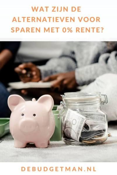 Wat zijn de alternatieven voor sparen met 0% rente_ #sparen #besparen #geld #DeBudgetman