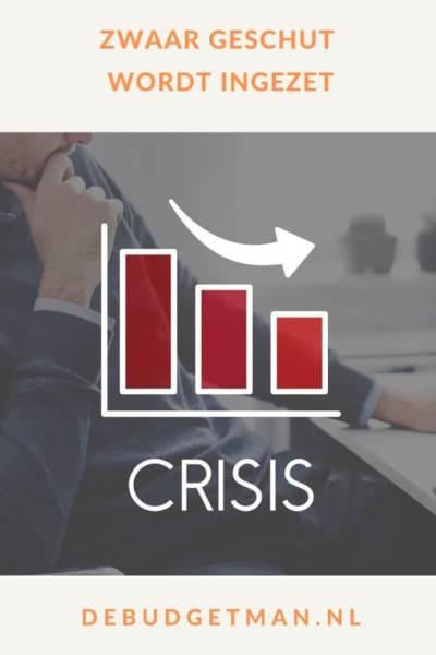 Zwaar geschut #Schulden #crisis #DeBudgetman