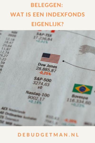 Beleggen: wat is een indexfonds eigenlijk? #beleggen #indexbeleggen #indexfonds #DeBudgetman
