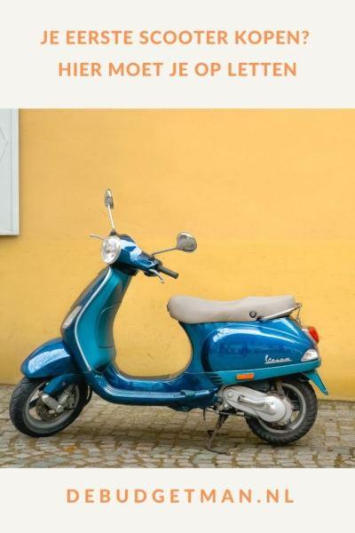 Je eerste scooter kopen: Hier moet je op letten #verzekeren #geldbesparen #DeBudgetman