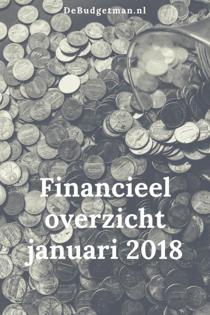 Financieel overzicht januari 2018 - DeBudgetman.nl