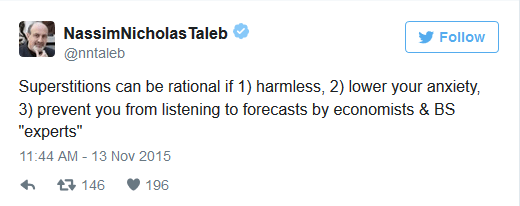 Taleb defends homeopathy