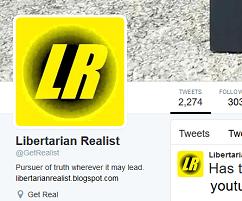 Libertarian Realist Twitter
