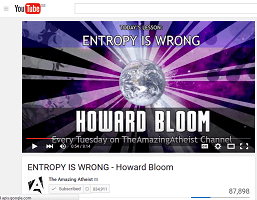 Howard Bloom and Entropy