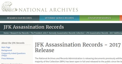National Archives Releases 3 800 JFK Assassination Records