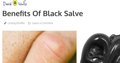 David Wolfe Promotes Corrosive Black Salve