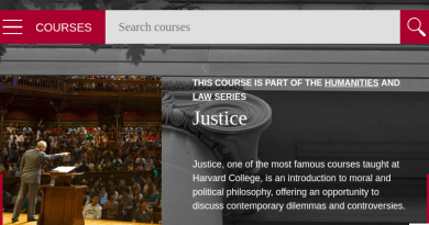 Justice Video Lectures With Michael Sandel From Harvard