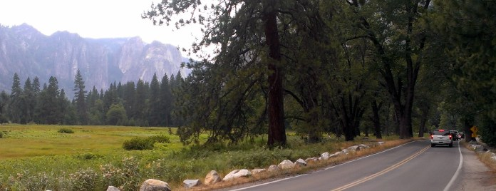 Radharc ó Gleann Yosemite