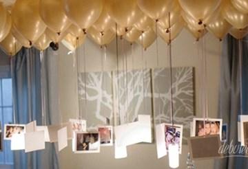 mural com balões decorativos