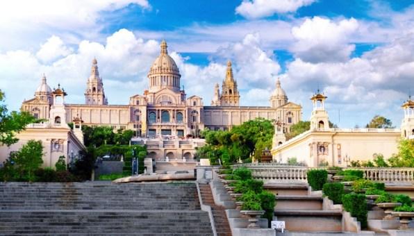 Barcelona - Museu Nacional da Praça da Espanha