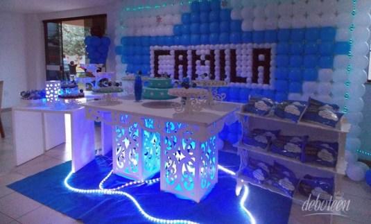 decoração azul A Culpa é das Estrelas