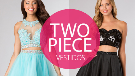 Two Piece Dress Vestidos