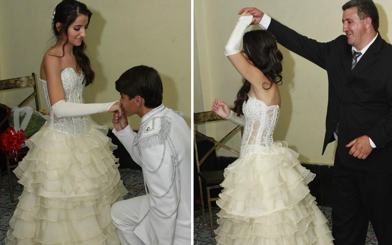 vestido de branco 15 anos