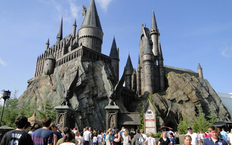 Castelo Harry Potter Disney Island of Adventure - Festa de 15 anos na Disney