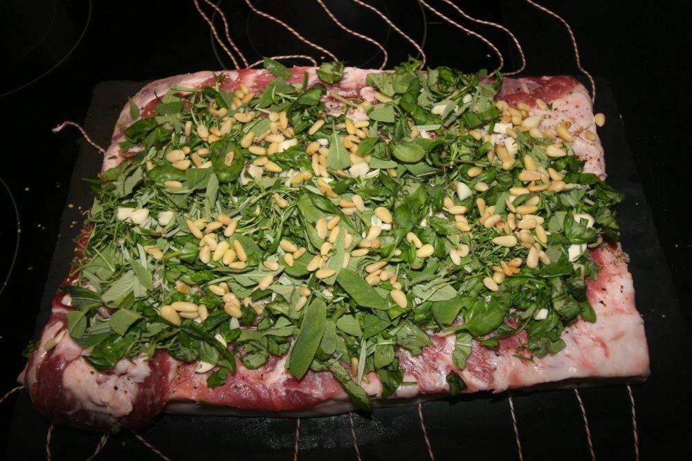 Porchetta met vulling