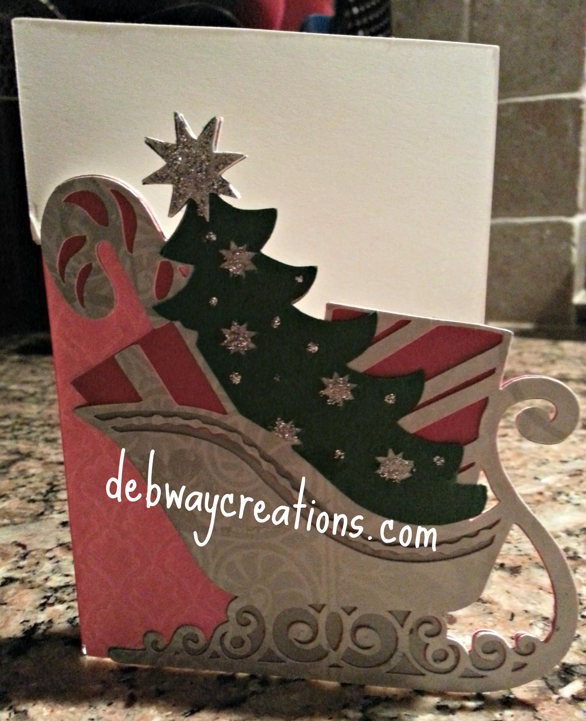 Anna Griffin Christmas Kitsch Cards Debwaycreations