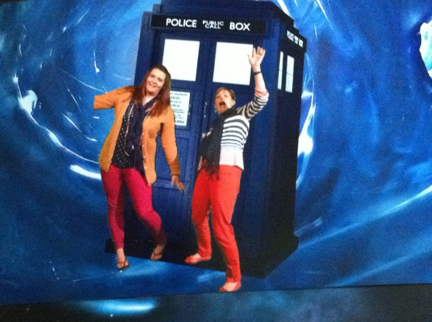 In the vortex at Doctor Who experience