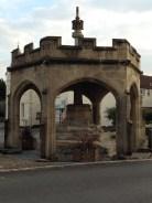 Cheddar Market Cross