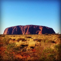 Weekly photo challenge: A Red Centre landscape