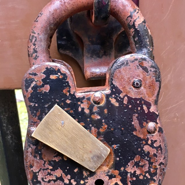 Padlock at Port Arthur Historic Site