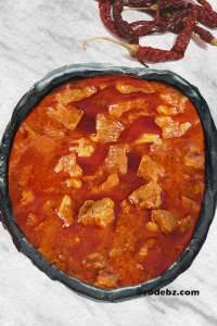 traditional goan pork vindaloo recipe, how to prepare goan pork vindaloo