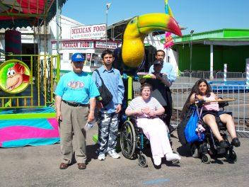 Group photo at the fair 2010_0