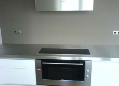 Keuken wit hoogglans